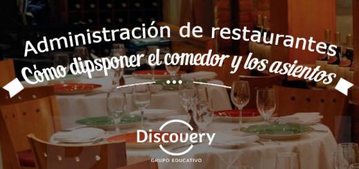 administración restaurantes disponer comedor asientos