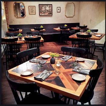 Administraci n de restaurantes c mo disponer el comedor y for Asientos comedor