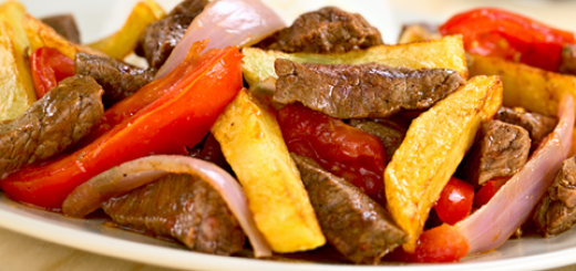 carne papa platos exoticos