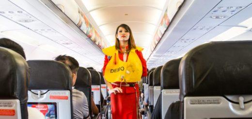aviación comercial anuncios vuelo